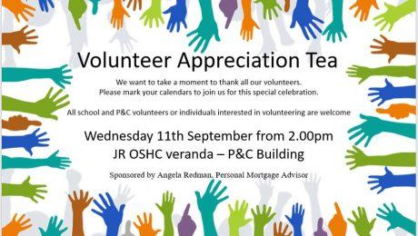 Volunteer Appreciation Tea